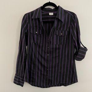 Pin stripe dress shirt